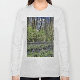 Everdon Stubbs Wood Bluebells Long Sleeve T-shirt