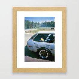 Corolla Framed Art Print