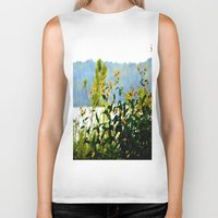 clear Biker Tanks featuring Naturally Clear by Stephenie
