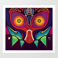 majora Art Prints featuring Majora by Tommy Price