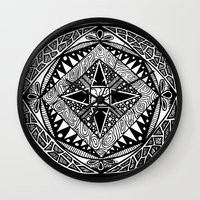 deco Wall Clocks featuring Deco by ThisIsG1