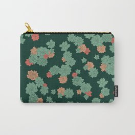 Succulents - Large Carry-All Pouch