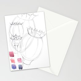 Poppy seed Stationery Cards
