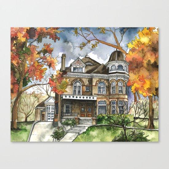 Victorian Autumn Canvas Print
