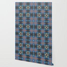 Kaleidoscope Courtyard Wallpaper