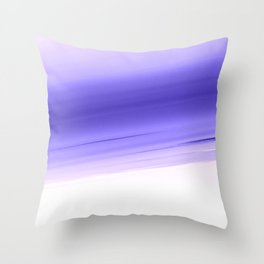 Lavender Smooth Ombre Throw Pillow