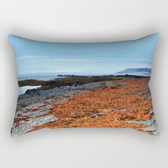 Seaweed Beach Rectangular Pillow
