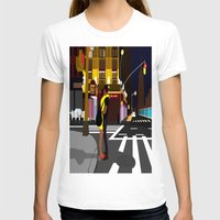 broadway T-shirts featuring BROADWAY KISS by Alfred Fox Art & Photography