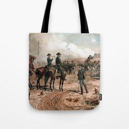 General Sherman Observing The Siege of Atlanta Tote Bag