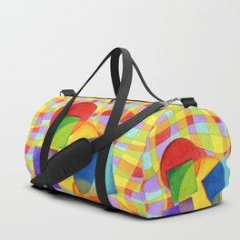 Candy Rainbow Circus Duffle Bag