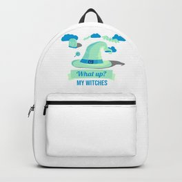 (tshirt) What Up My Witches (invert) Backpack
