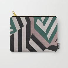 ASDIC/SONAR Dazzle Camouflage Graphic Design Carry-All Pouch