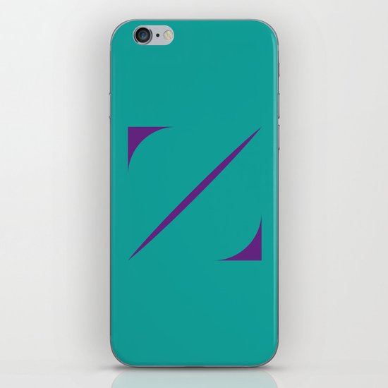 Z like Z iPhone & iPod Skin