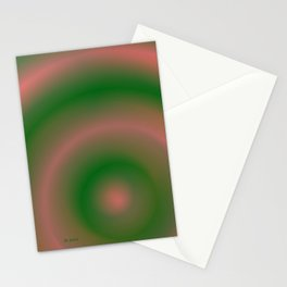 Green and Pink Stationery Cards
