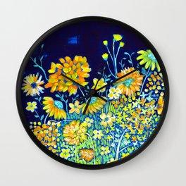 Spring Night Wall Clock