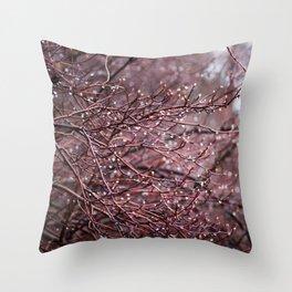 Frigid Beauty Throw Pillow