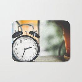 Alarm Clock Bath Mat