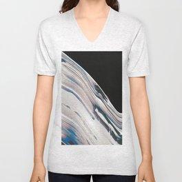 Space Time Blur Unisex V-Neck