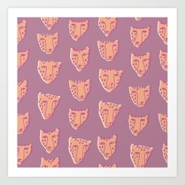 Leopards Art Print