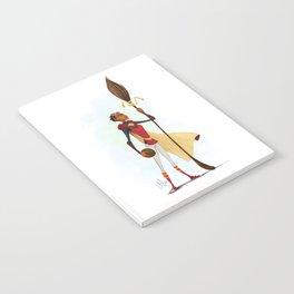 Angelina Johnson - Quidditch Captain Notebook