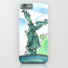 Angel of the waters - Central Park, New York Slim Case iPhone 6s