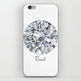 Round iPhone Skin