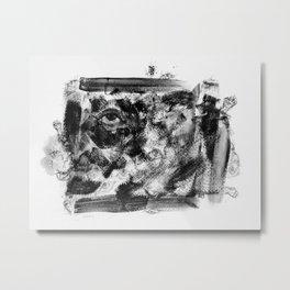 Abstract Dark Metal Print