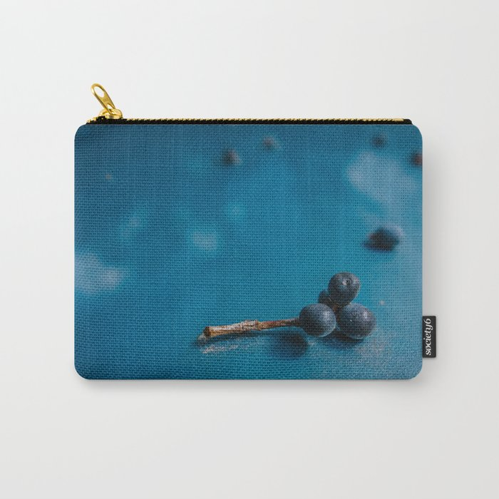 Wild Berries After Rain Carry-All Pouch