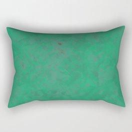 Geometric Greens Rectangular Pillow