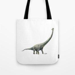 Green Titanosaur Tote Bag