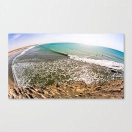 surfEXPLORE Oman Canvas Print
