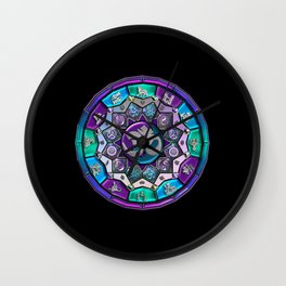 UROCK! Independence Mandala Wall Clock