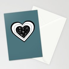 Don't use my heart for Target Practice Stationery Cards