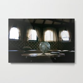 World Traveller Metal Print