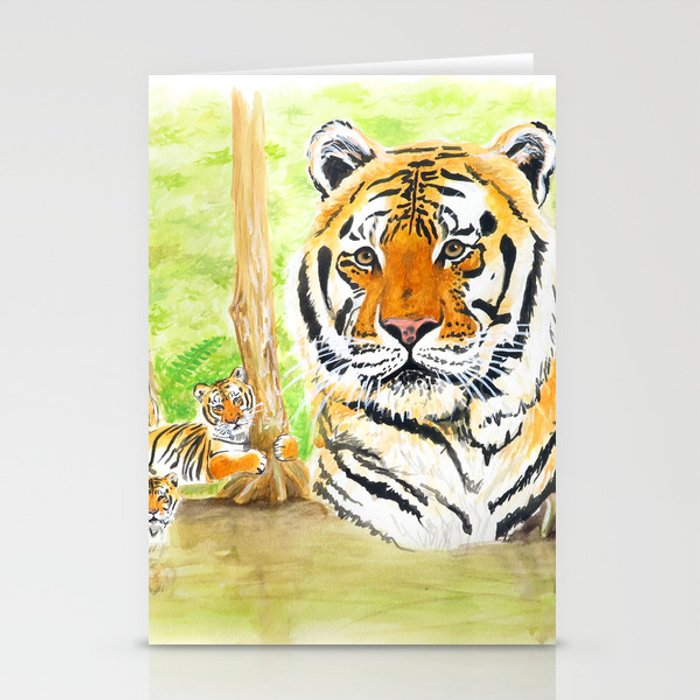 Seth Tiger at Tiger Lake Stationery Cards