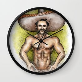Sexy Mexican Revolutionary Wall Clock