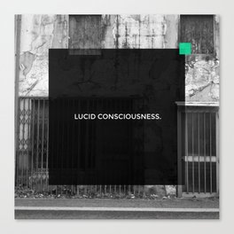 LUCID CONSCIOUSNESS Canvas Print