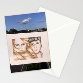 Paper Towns Drawing Stationery Cards