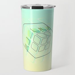 Cubism Travel Mug