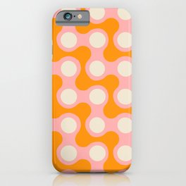 swell squiggles iPhone Case