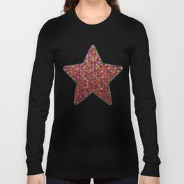 Polka Dot Sparkley Strass G266 Long Sleeve T-shirt