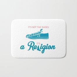 It's not the shoes,it's a Religion Bath Mat