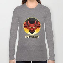 Devil Religion Unfollow Jesus God Gift Long Sleeve T-shirt