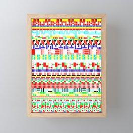 Flags Of The World Framed Mini Art Print