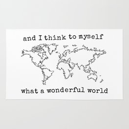 Wonderful World Rug
