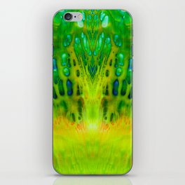 acrylic mirror iPhone Skin