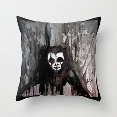 The Bringer of Nightmares Throw Pillow