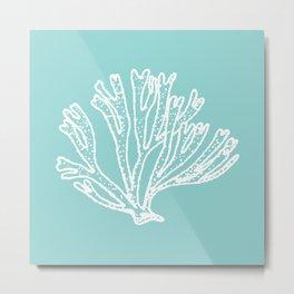 coral blue Metal Print