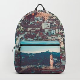 Dahlia Giants in Florence Backpack