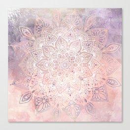 Mandala Bohemian Fall Canvas Print